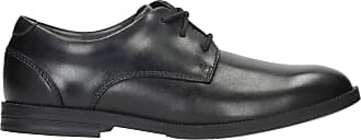Clarks Childrens Black Leather Clarks Rufus Edge Youth Size 3.5