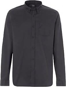 Oakley Mens Solid Woven Shirt