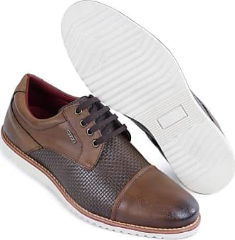 Hype Sapato Casual Masculino Oxford Hype Em Sintetico 1002 (39, Tabaco)