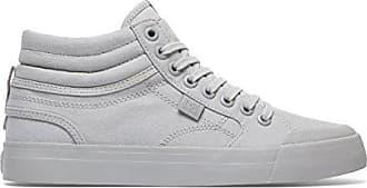 DC Shoes Womens Shoes Evan Hi Tx - High Top Shoes - Women - US 5.5 - Grey Grey US 5.5 / UK 3.5 / EU 36.5