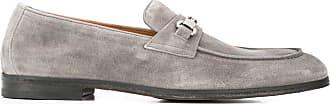 Doucal's Loafer mit Stegverzierung - Grau