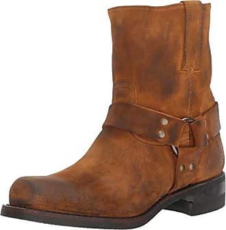 4b7aae4bb017 Frye Mens Harness 8R Motorcycle Boot Wheat 9.5 M M US