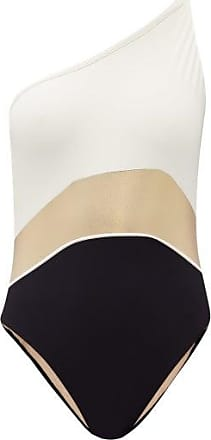 Zeus + Dione Santorini One-shoulder Swimsuit - Womens - Ivory Multi