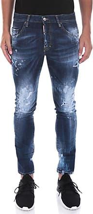 Dsquared2 Dsquared2 - Blue Slim Jean Denim Jeans S74LB0242 (38)