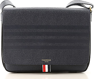 60051ae5572 Thom Browne Shoulder Bags On Sale, navy, Leather, 2017, one size