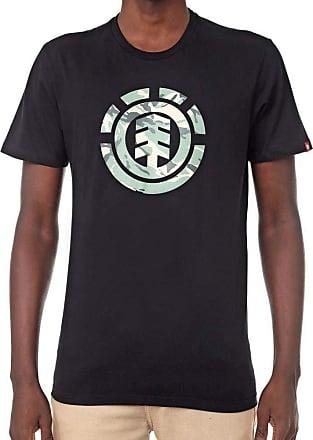 Element Camiseta Element Foundation Preta