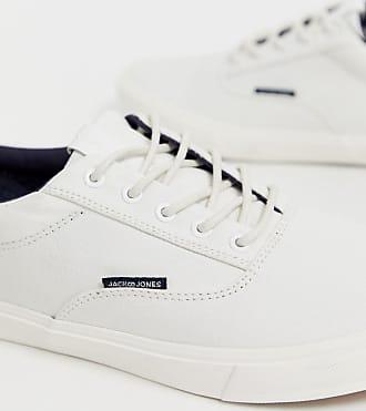 e4d1390904d Jack   Jones canvas sneaker in white - White