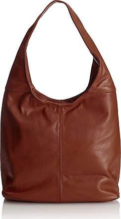 Chicca Borse Handbag leather womans shoulder 41 x 55 x 12 cm - mod. Lidia