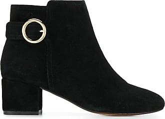 Tila March Ankle boot com detalhe de fivela - Preto