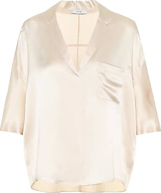 Vince Silk satin pajama shirt