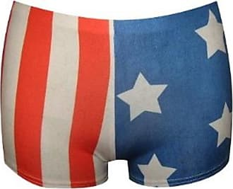 Insanity USA Flag Stars and Stripes Shorts Sexy Hot Pants Fancy Dress (Large/X-Large)