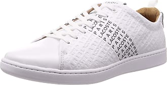 Lacoste Carnaby Evo 319 12 US SMA WHT BLK 738SMA004641793 White Size: 10 UK
