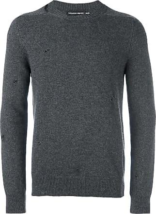 Alexander McQueen distressed jumper - Grey