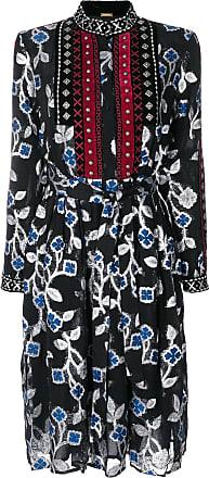 Dodo Bar Or Vestido com estampa floral - Preto