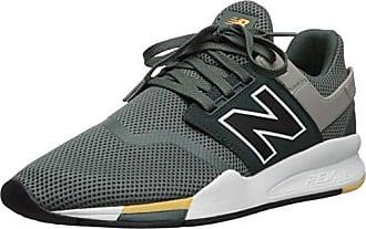 New Balance Herren 247v2 Sneaker, Grün (Faded Rosin/Black FA), 46.5 EU
