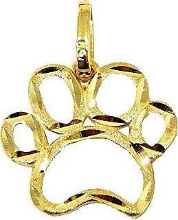 Prado Joias Pingente Em Ouro 18k Patinha Cachorro