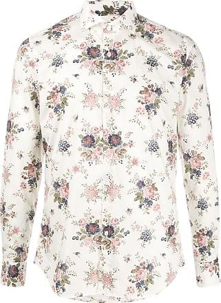 Xacus floral print shirt - White