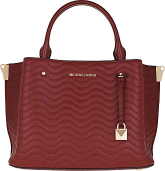 Michael Kors Tote - Arielle Medium Satchel Brandy - red - Tote for ladies