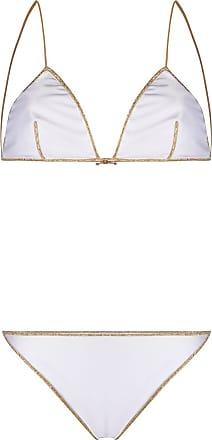 Oséree Biquíni modelo cortininha - Branco
