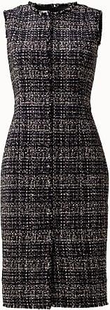 Akris Sleeveless Tweed Shift Dress