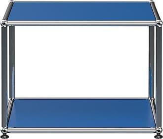 USM Haller Beistelltisch 52,3x39x52,3cm - enzianblau RAL 5010/BxHxT 52,3x39x52,3