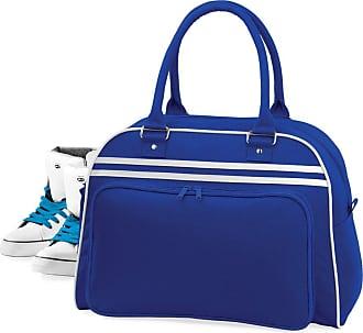 BagBase Bagbase Retro Bowling Bag Colour=Bright Royal/White Size=O/S
