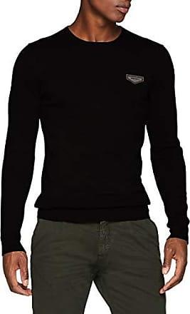Antony Morato Felpa con Collo A Bordatore E Stampa Logo Sul Davanti Sudadera para Hombre
