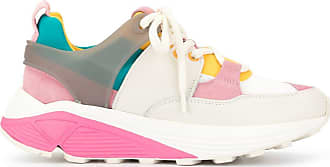 Dondup panelled sneakers - Multicolour
