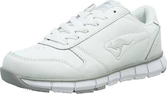Kangaroos Kangaroos K-bluerun 700 B, Unisex Adults Low-Top Sneakers, White (White/Lt Grey 002), 10.5 UK (45 EU)