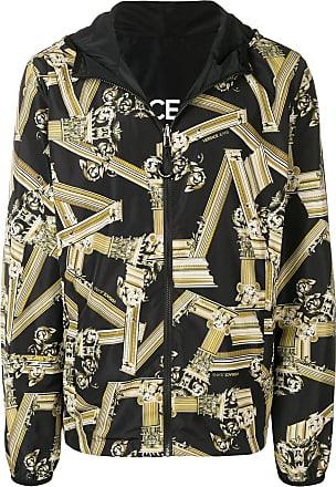 Versace Jeans Couture veste zippée à imprimé all-over - Noir c9210b6c1f3