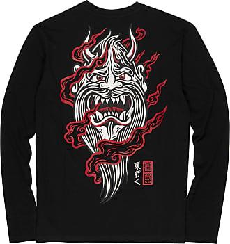 Element Demon Keeper Long Sleeve T-Shirt in Flint Black (X Large)