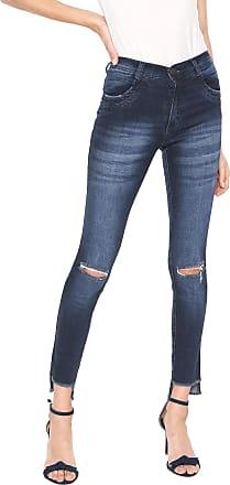 Zune Jeans Calça Jeans Zune Skinny Azul