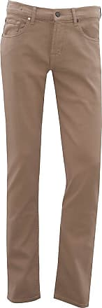 7 For All Mankind Mens Slimmy Luxe Performance Colours Jeans 33 Beige