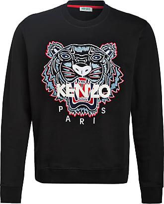Kenzo Sweatshirt TIGER - SCHWARZ/ BLAU/ WEISS