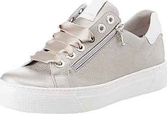 780df3d2dcefe8 Semler Damen Alexa Sneaker Grau (Perle-Weiss) 36 1 3 EU