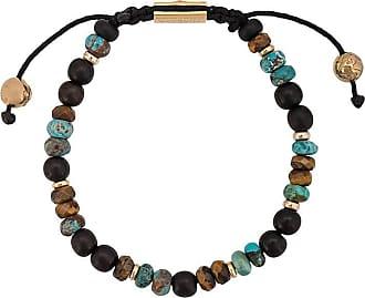 Nialaya adjustable stone bracelet - Black