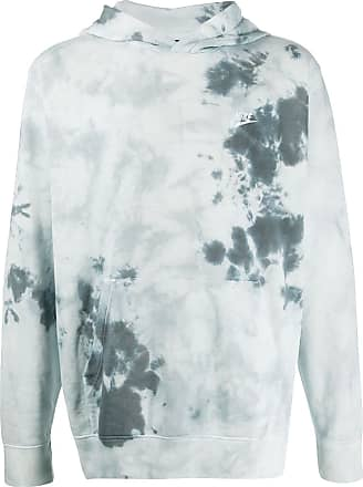 Nike Kapuzenpullover mit Batik-Print - Blau
