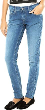Levi's Calça Jeans Levis Skinny Botão Azul