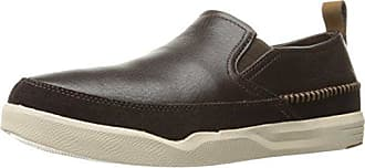 Hush Puppies Mens Lazy Genius Slip-On Loafer, Brown, 11.5 M US