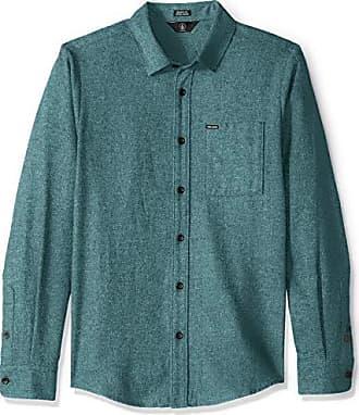 Volcom CADEN Camicia scozzese-blu-camicie da uomo