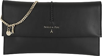 Patrizia Pepe Flap Crossbody Bag Nero Umhängetasche schwarz