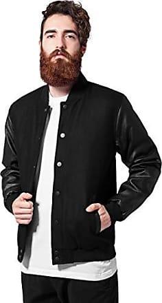 giacca college uomo nero