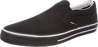 Tommy Jeans Mens Textile Slip On Black (Black 990)