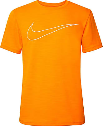 Nike Superset Gfx Logo-print Dri-fit T-shirt - Orange