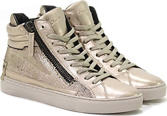 Crime London SNEAKER JAVA HI IN PAILLETTES 1 colore CIPRIA a9a6fc6916c
