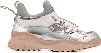 Pinko Fashion Woman 1H20QRY62UIN6 Silver Polyester Sneakers | Spring Summer 20