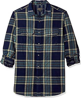 40e26f517 Pendleton Mens Long Sleeve Fitted Thomas Kay Doubleface Shirt