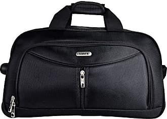 Yin's Bolsa Sacola de Viagem Grande c/Carrinho Preta YS1027P