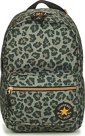 Converse Leopard Go Lo Backpack Rucksacks Women Kaki - One Size - Rucksacks Bag