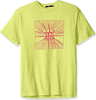 Obey Mens Nothing Dyed Short Sleeve Tshirt, Dusty Mint, S